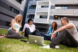 Students of the University of New South Wales (UNSW), Australia.